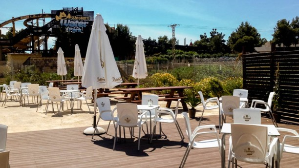 Otto Rosso Vista terraza