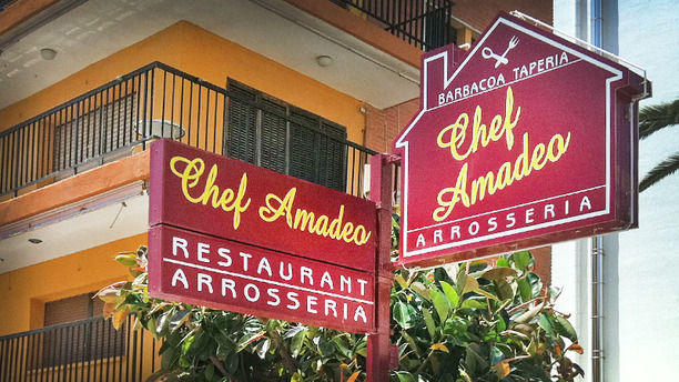 Chef Amadeo detalle exterior
