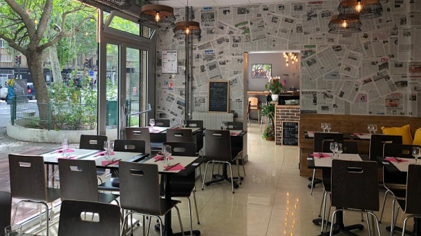 Pho Co Salle du restaurant