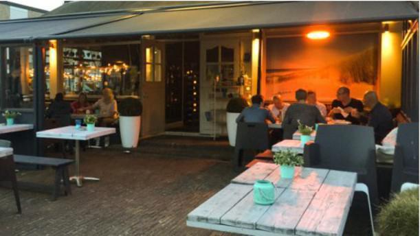 Restaurant Klein Zwitserland Wijk aan Zee terras