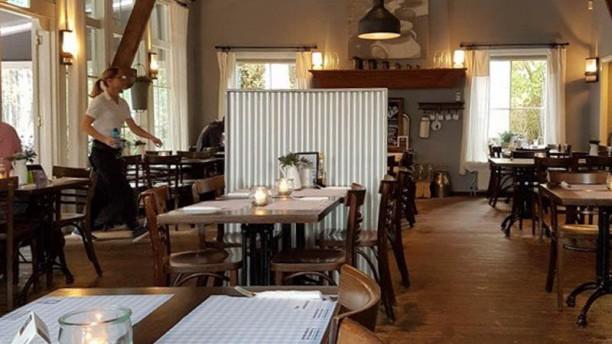 Pannekoekhuis De Grebbeberg Restaurant van binnen.