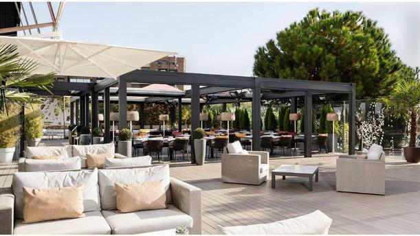 Karrara Terrasse - Hotel Puerta América 5* Vista terraza