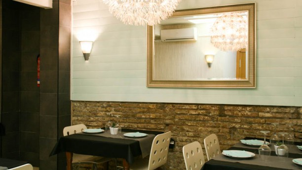 Panamera Restaurante & tapas Vista sala