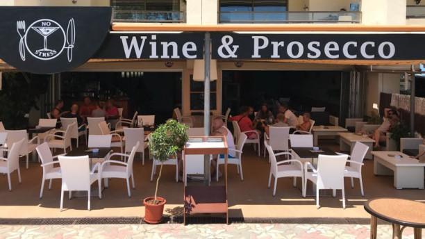 No Stress Wine & Prosecco Terraza