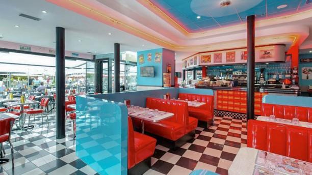 Madison Cafe Diner vue de la salle