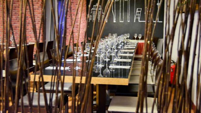 Vista del interior - Restaurante Tres, Madrid