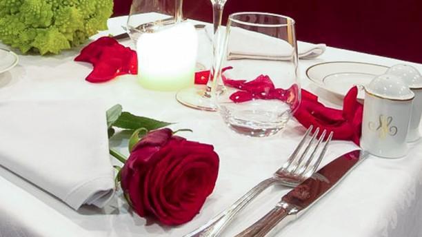 Café du Marché table dressée
