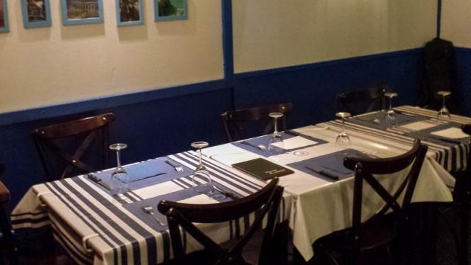 Vue des tables - Rock Wine & Food, Bordeaux