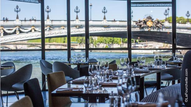 Restaurante la table du flow en paris opiniones men y - Le verre y table restaurant viroflay ...