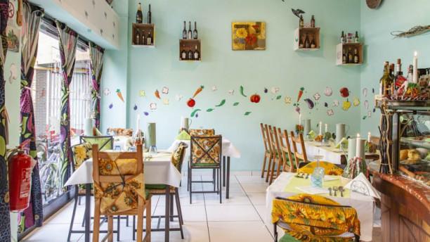 Arcobaleno Vegetariano Vista sala