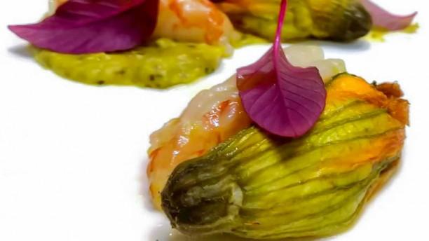 AnimaMia Fiore di zucchina gambero alla scapece