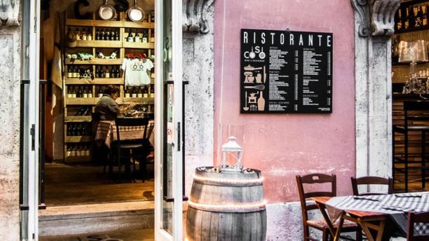 Coso Wine and Restaurant entrata