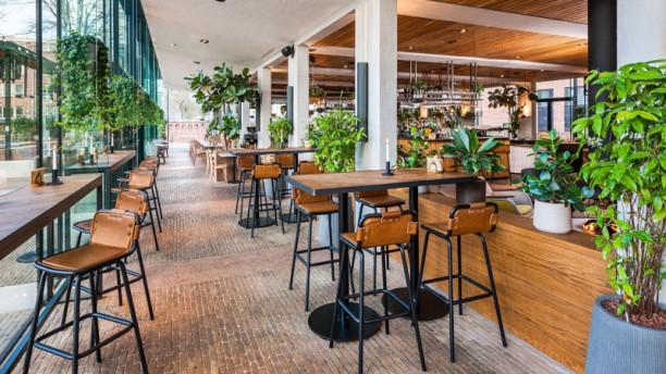 PARK Café-Restaurant Het restaurant