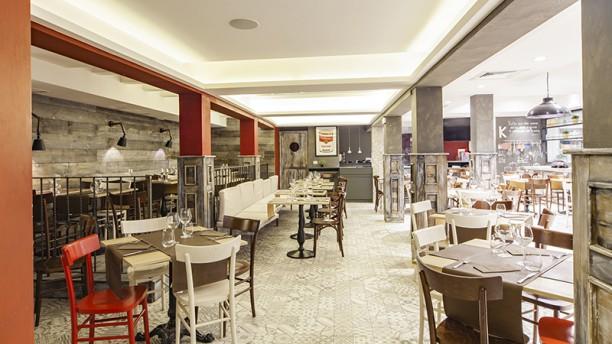 Osteria Gourmeet Vista sala