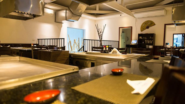 Shinju - Espaço Teppan & Sushi Vista da sala