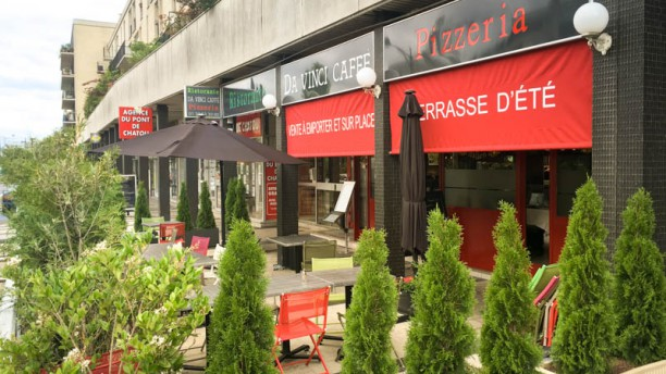 Da Vinci Caffé Ristorante pizzeria Apreçu de l'extérieur