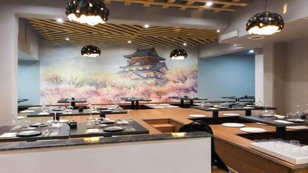 EMY Sushi Asian Restaurant Vista sala