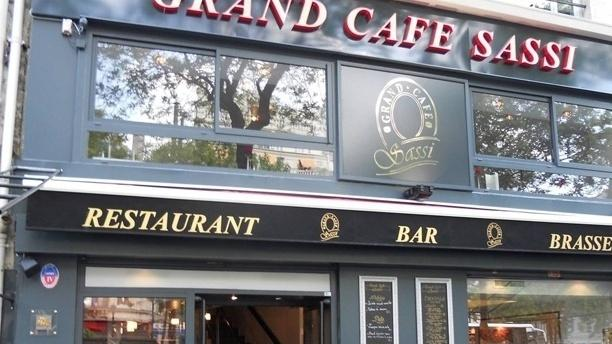 Grand Café Sassi La devanture