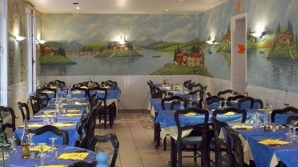 Pizzeria César Salle du restaurant
