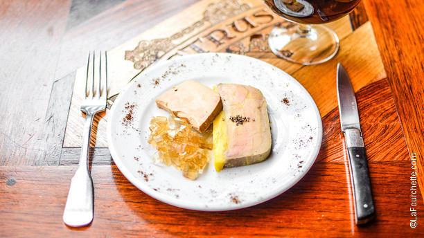 Le P'tit Bougnat Foie gras et son chutney