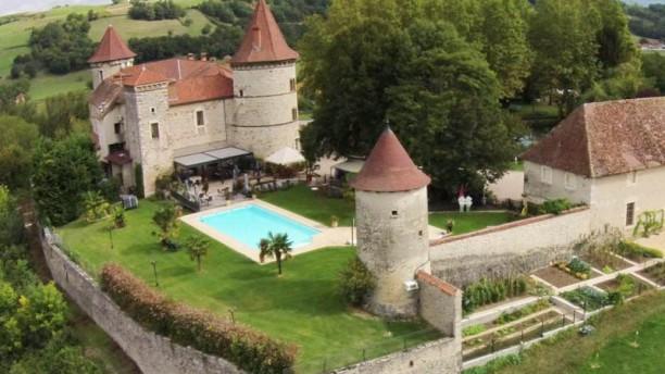 Le Capella Vue arienne du château