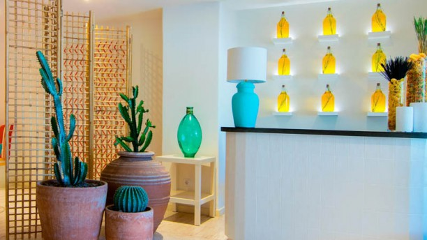Ugo & Vandino - Hotel Jardín Tropical Vista de la sala