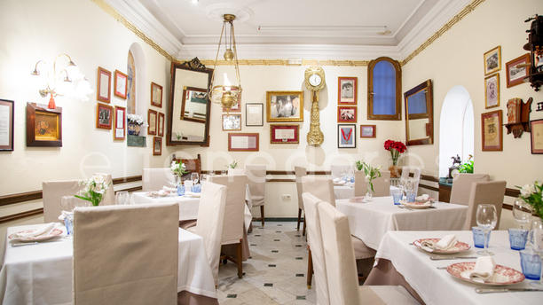 Taberna del Alabardero Madrid Vista sala