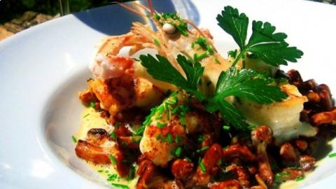 restaurant - La Ferme - Andé