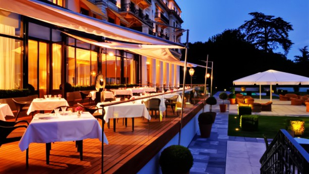 Anne Sophie Pic Au Beau Rivage Palace In Lausanne Restaurant
