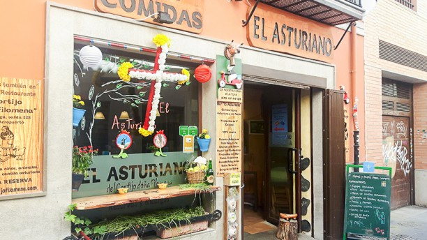 El Asturiano Entrada