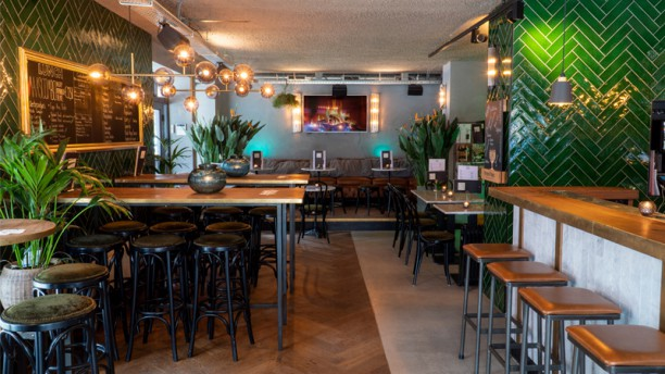 Maas Bar & Kitchen Het restaurant