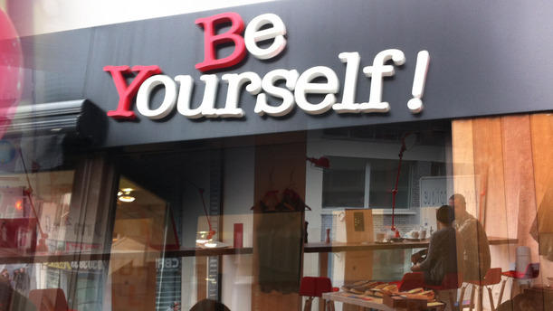 Be Yourself ! Entrée