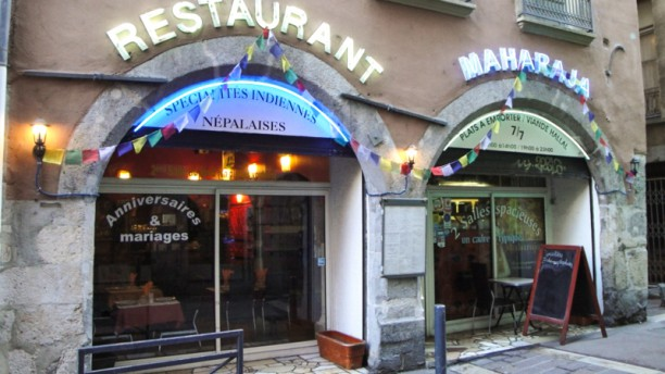 Restaurant Maharaja La devanture