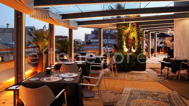 La Terraza del Claris - Hotel Claris Vista terraza