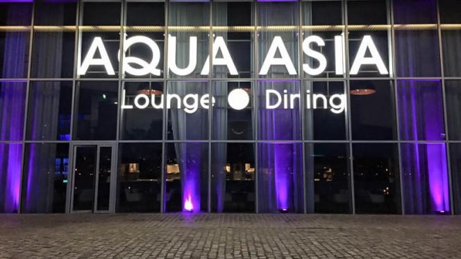 Ingang - Aqua Asia Club, Rotterdam
