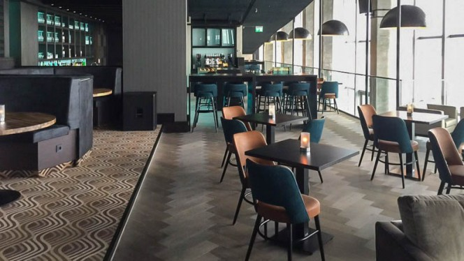 Restaurantzaal - Aqua Asia Club, Rotterdam