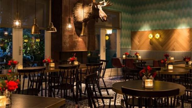 Brooks Amsterdam Het restaurant