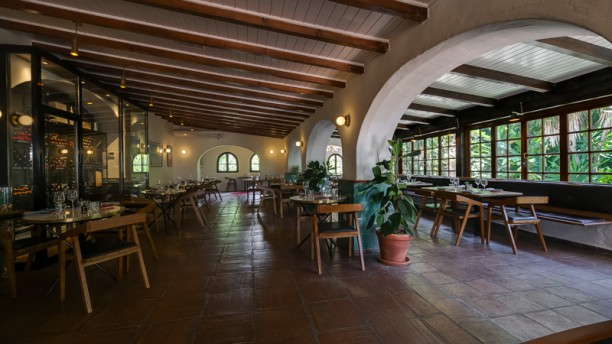 Cascada Cocina & Bar Vista sala