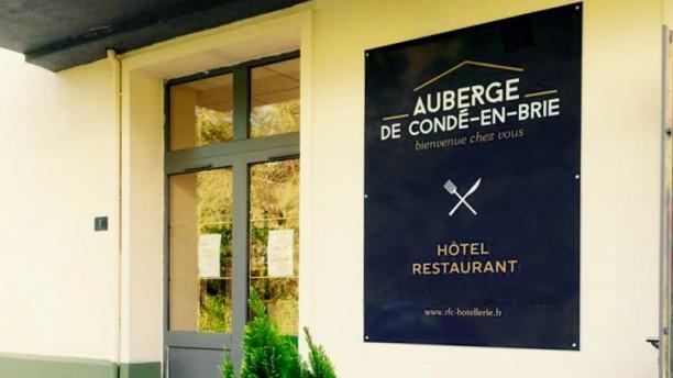 Auberge de Condé-en-Brie entrée