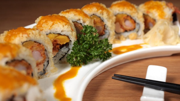 Shinseki Foie gras roll