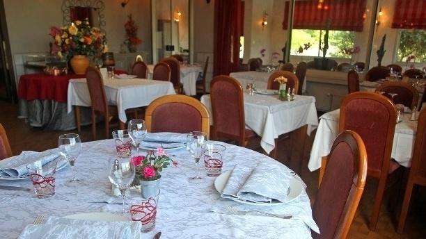 Hôtellerie de Balajan Salle du restaurant