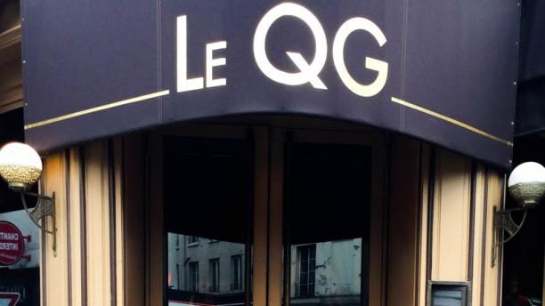 Le QG devanture