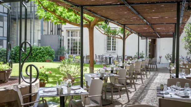 Restaurant le saint louis in avignon restaurant reviews for Restaurant jardin lee
