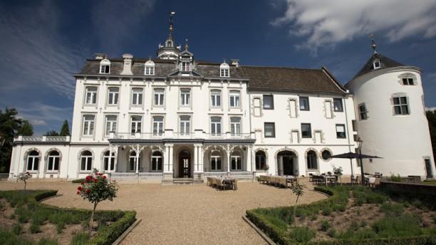 Restaurant L'Etoile (onderdeel van het Teaching Hotel Chateau Bethlehem) Ingang
