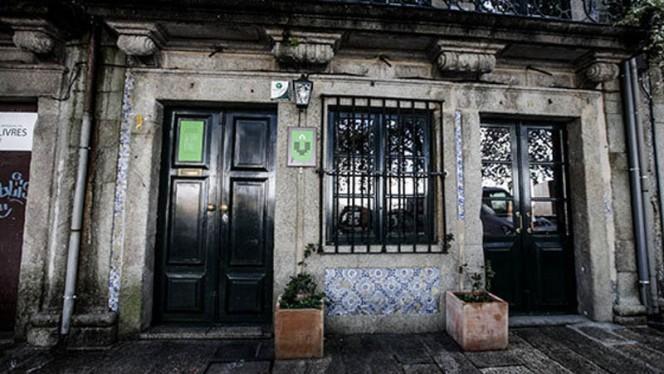 entrada do restaurante - Casa Virtude, Porto