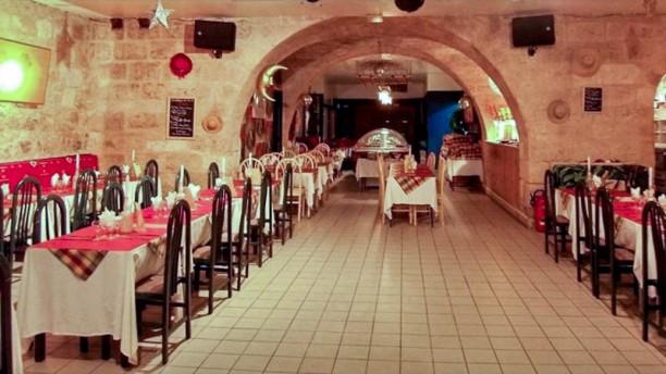 Restaurant La Case Vue de la salle