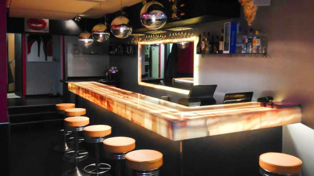 L'Amoroso Vue côté bar