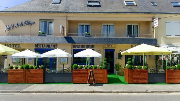 Hôtel de la Plage hotel restaurant a quineville a 100m de la mer