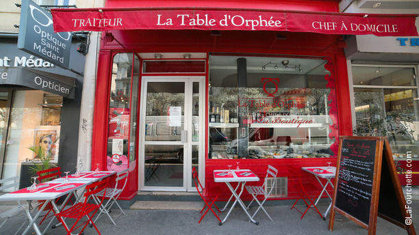 La Table d'Orphée Bienvenue au restaurant La Table d'Orphée
