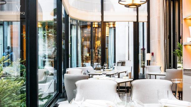 Restaurant l 39 orangerie four seasons h tel george v - Hotel georges v paris prix chambre ...